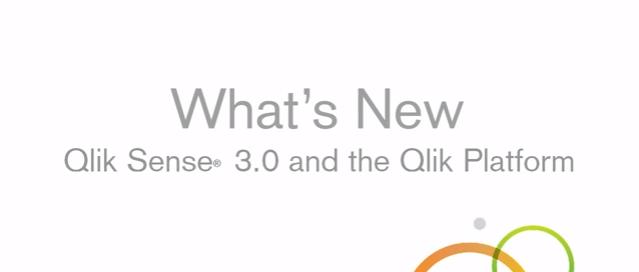 QLIK SENSE – Nueva versión 3.0