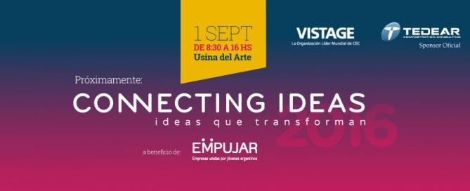 Invitación a Connecting Ideas 2016