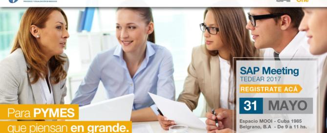 Lo invitamos a la presentación de SAP Business One en Mooi, Belgrano