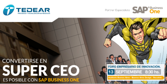 Lo invitamos al próximo Foro Empresario de Innovación SUPER CEO