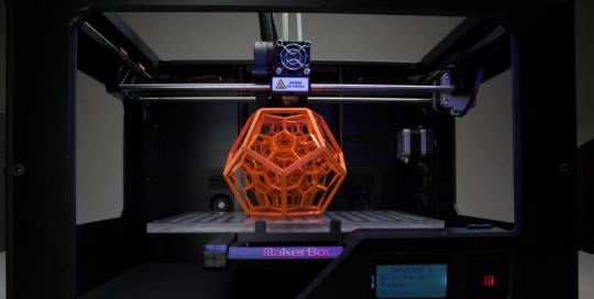 Las impresoras 3D, otra tecnología con el poder de patear el tablero de la industria